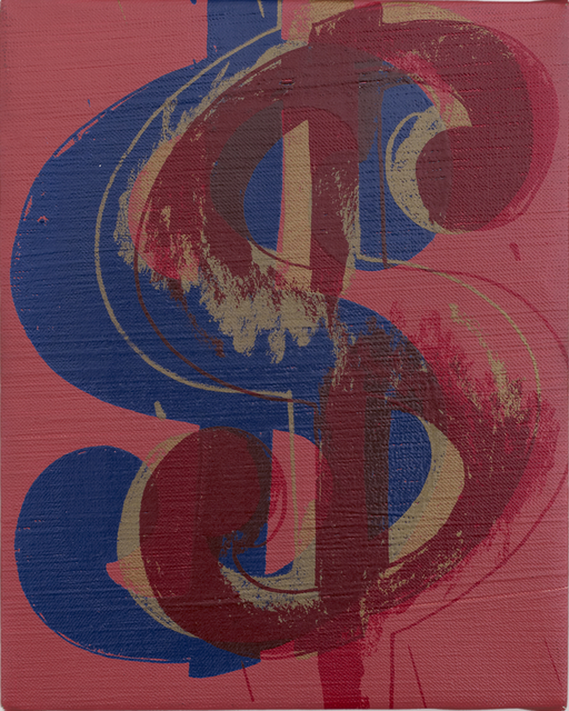 , 'Dollar Sign,' 1981, Lévy Gorvy