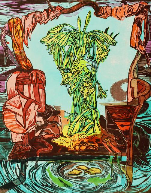 Ke Francis, 'Raft With Flowers', ca. 2018, Bill Lowe Gallery