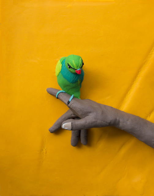 Eleanor Macnair, 'Original photograph: From 'The Lost Head & The Bird' by Sohrab Hura rendered in Play-Doh ', 2019, Atlas Gallery