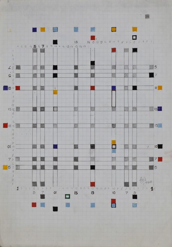 Antonio Asis, 'Maquette 2, # 3056,' 1960, KaBe Contemporary