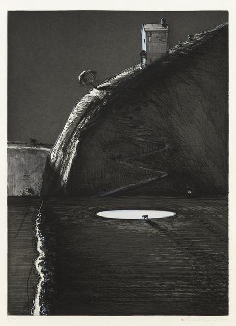 Wayne Thiebaud, 'Night Farm', 1991, Paul Thiebaud Gallery
