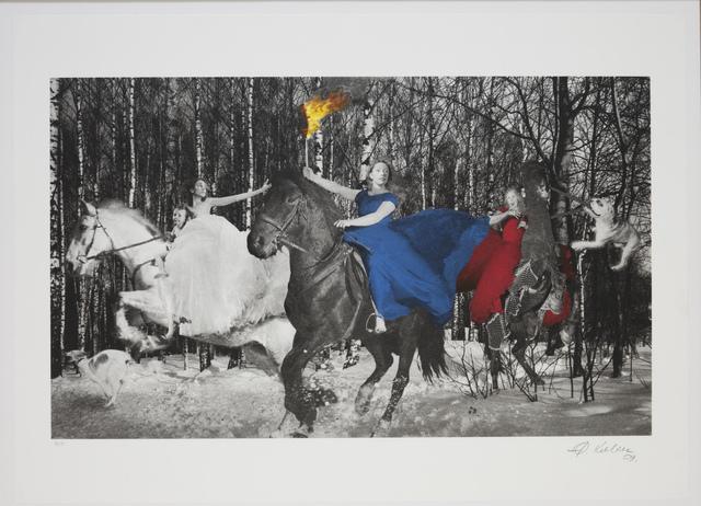 Oleg Kulik, 'Troika', 1999, Giampaolo Abbondio