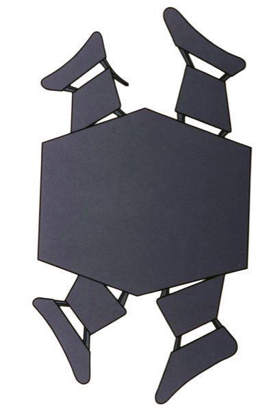 , 'Mesa com Cadeiras 1,' 1989, Luciana Brito Galeria