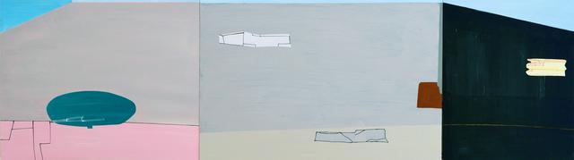 , 'GG (triptych),' 2016, SILAS VON MORISSE gallery