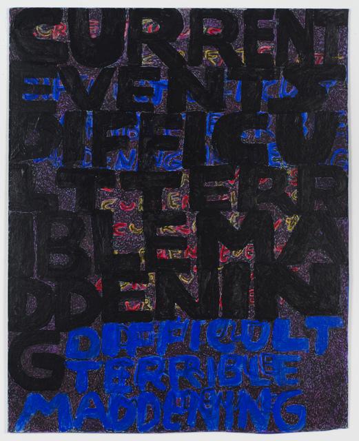 , 'Current Events,' 2016–18, Fleisher/Ollman