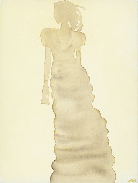 , 'Silhouette (Dress by Calvin Klein),' 2010, CFHILL
