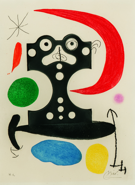 Joan Miró, 'Monument to Christopher Columbus and to Marcel Duchamp', 1968-1971, Skinner
