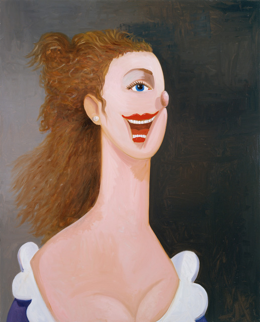 , 'Portrait of an English Lady,' 2008-2009, Museum Dhondt-Dhaenens