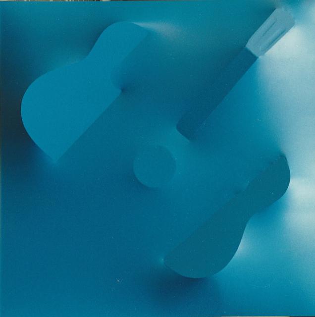 , 'Mandolino blu,' 1989, Lattuada Studio