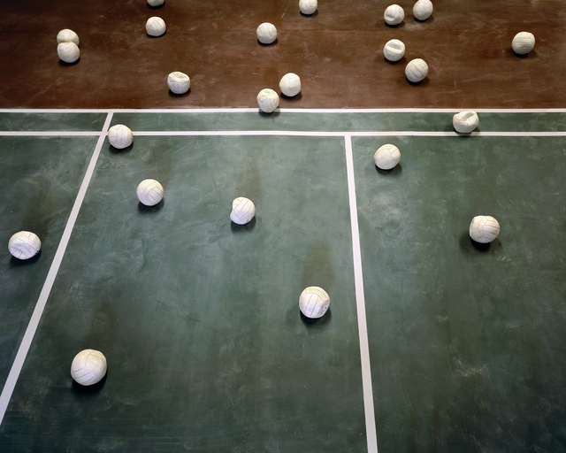 , 'Volleyballs,' 2015, Leo Xu Projects