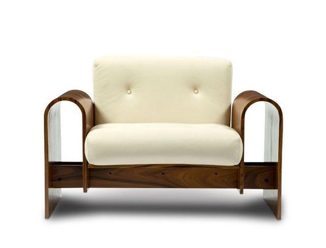 Oscar Niemeyer, 'ON Armchair', 1970-1980, Design/Decorative Art, American walnut wood, ETEL