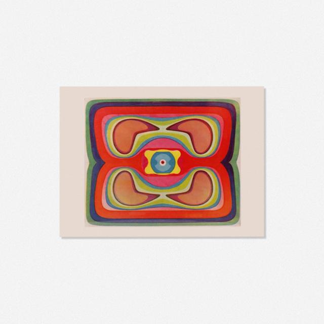 Gernot Bubenik, 'Eizelle', 1964, Wright