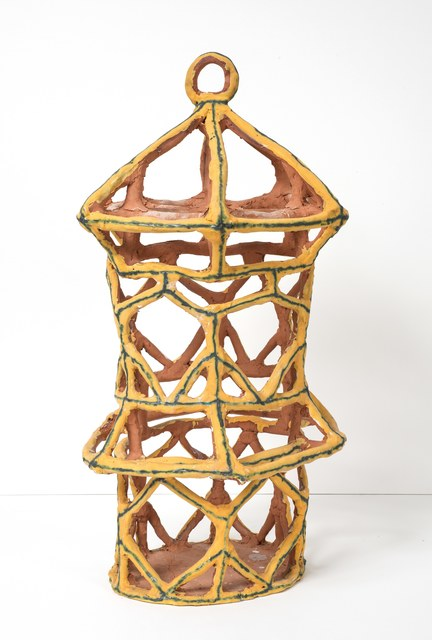 , 'Gold Birdcage with Triangles,' 2015, Gavlak