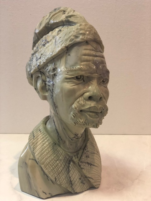 , 'African Man Stone Sculpture,' , Art Gallery Pure