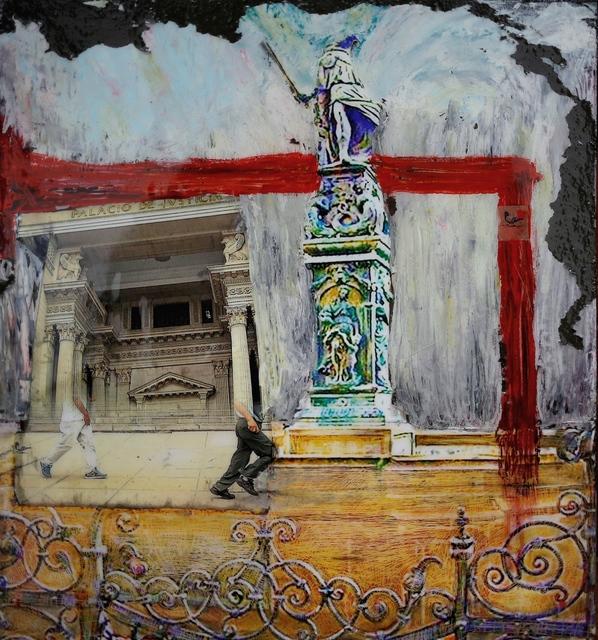 , 'Justice Ergo Sum,' 2015, Academy Art Museum