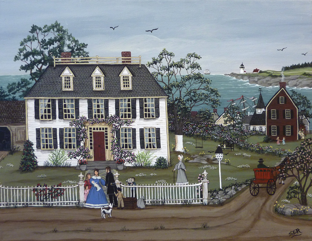 , 'The Sea Captain's Return Home,' 2011, GINA Gallery