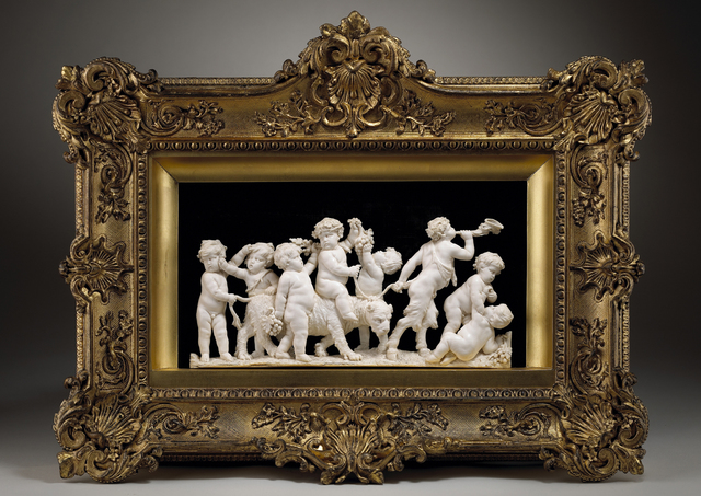 , 'A Procession of Putti with the Infant Bacchus Riding a Panther, Led by a Young Satyr,' 1633-1668, Tomasso Brothers