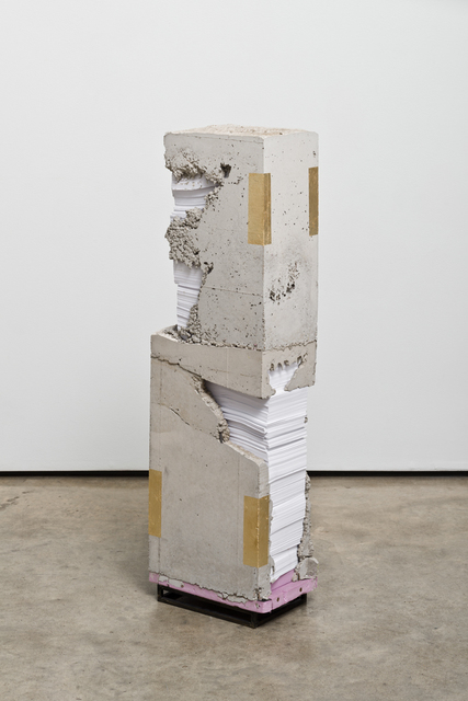 , 'White Lies 2,' 2017, Lora Reynolds Gallery