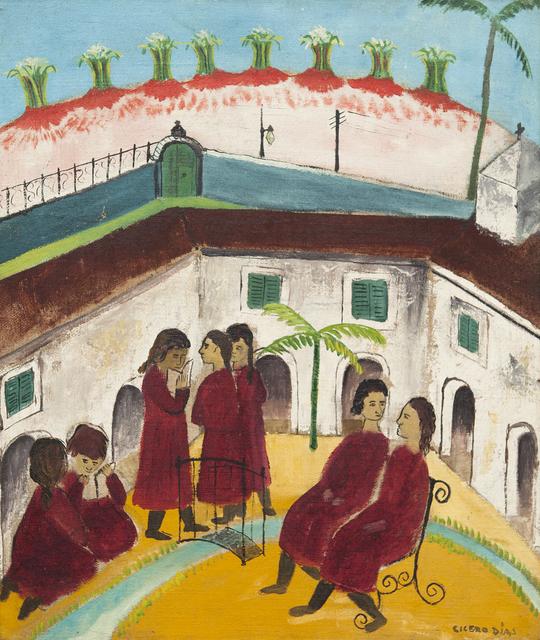 , 'Meninas no Pátio,' ca. 1930, Galeria Frente
