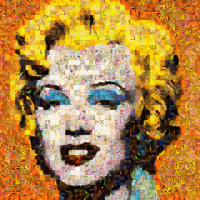 Andrea Morucchio, 'Puzzling Pop 01, Revisiting Andy Warhol's Orange Marilyn', 2019, Bugno Art Gallery