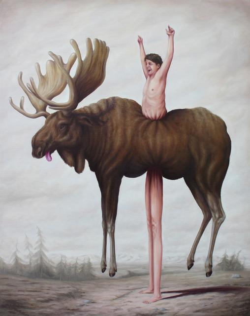 Bruno Pontiroli, 'La Prise d'élan', 2017, Fousion Gallery