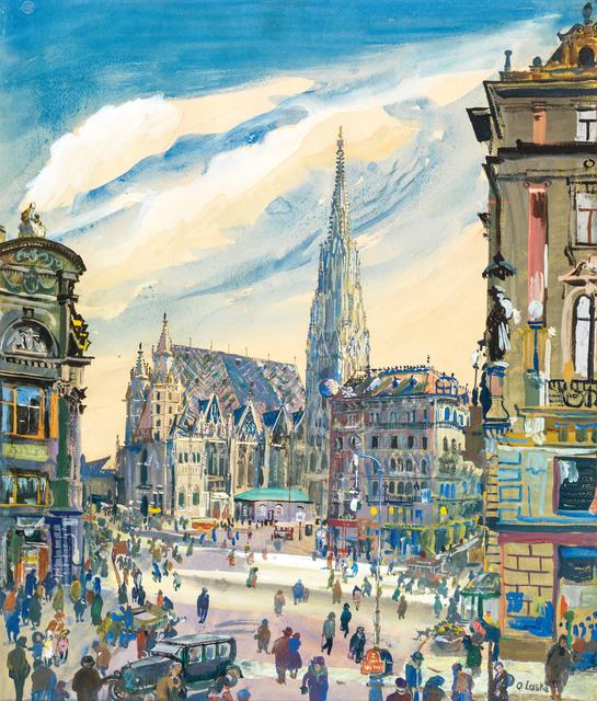 , 'St. Stephan's Cathedral,' ca. 1940, Galerie Kovacek & Zetter