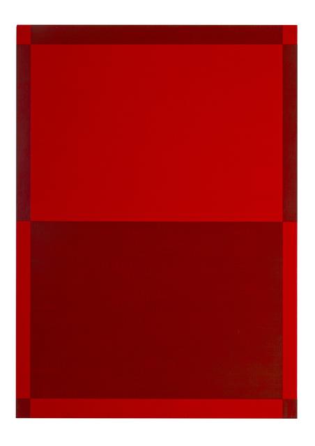 , 'Zwei Dinge - rot ,' 2015, Joerg Heitsch Gallery