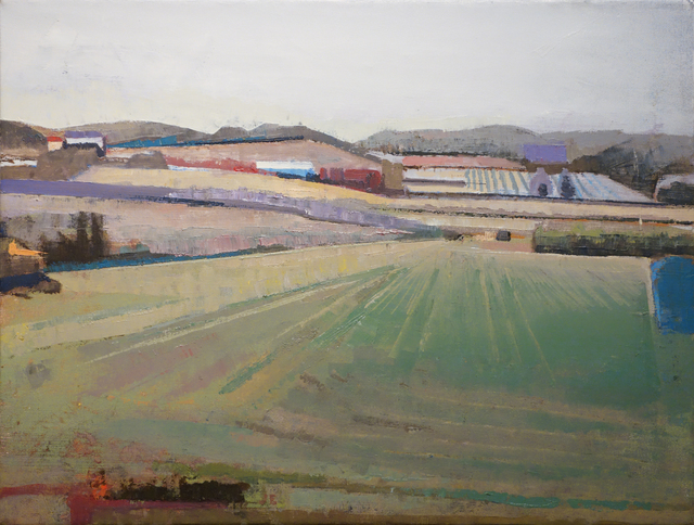 John Evans, 'Field & Hillside in Burgundy', 2010, Gallery Henoch