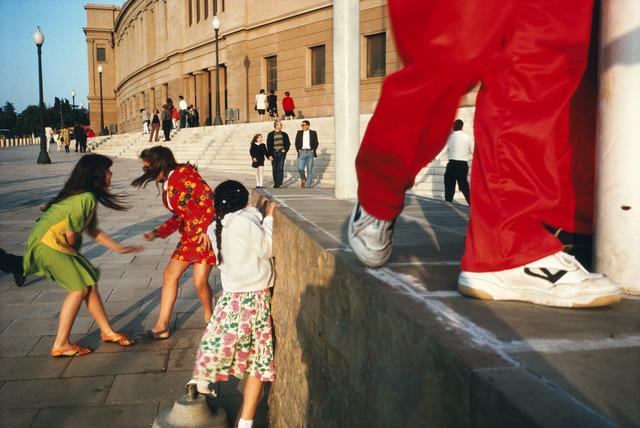Alex Webb, 'Barcelona, Spain', 1992, Photography, Fuji Crystal Archive print, Robert Klein Gallery