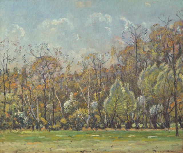 Theodore Wendel, 'Trees at Heartbreak Hill, Upper Farm', ca. 1915, Vose Galleries