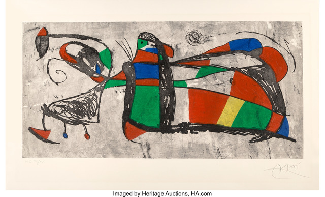 Joan Miró, 'Tres Joan', 1978, Heritage Auctions