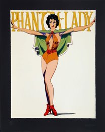 Mel Ramos, 'Phantom Lady (Black),' , Heritage Auctions: Holiday Prints & Multiples Sale