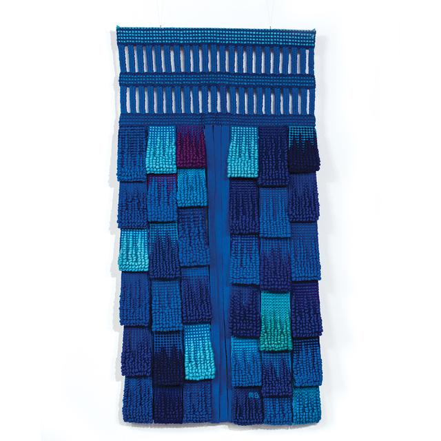 , 'Totem aux Millefleurs Bleues,' 1980, browngrotta arts