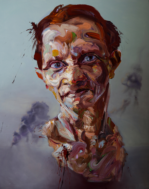 , ''Woman In Smoke' ,' 2015, StolenSpace Gallery