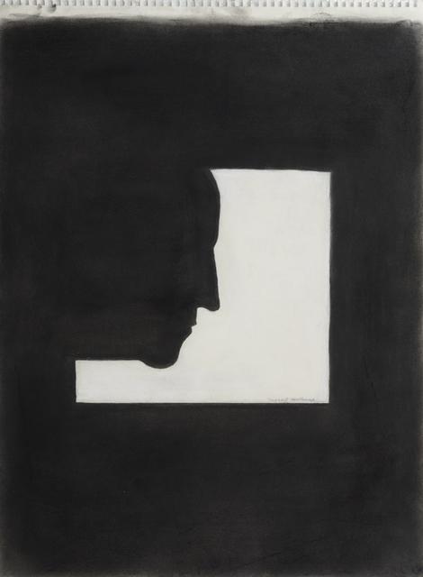 , 'Not Duchamp's Profile,' 2016, Robert Berman Gallery
