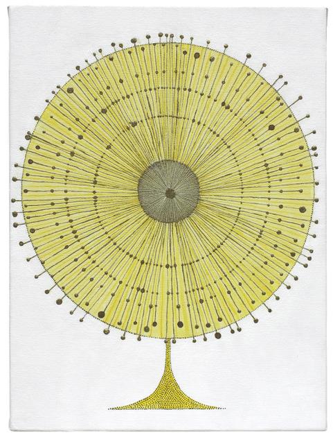 , 'very yellow tree,' 2017, Craig Krull Gallery
