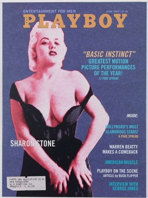 , 'Playboy Magazine: Sharon Stone,' 2011-2012, Gagosian