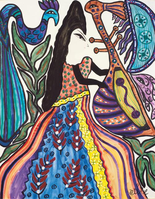 , 'Jeune musicienne,' 1975, Elmarsa