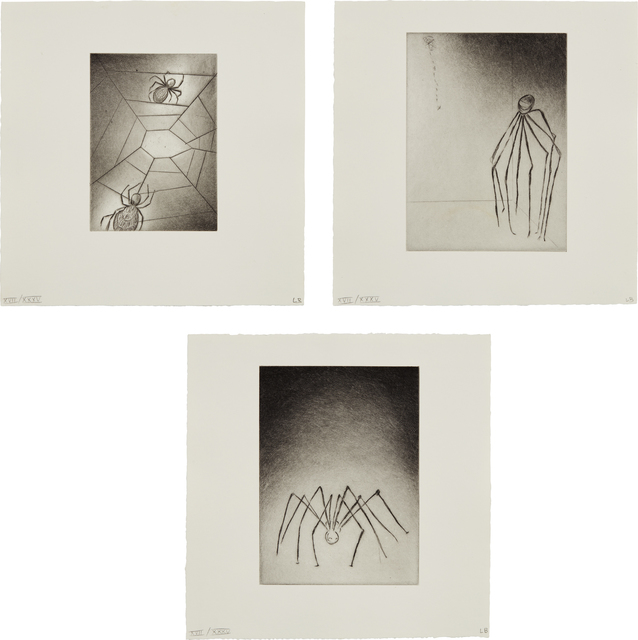 Louise Bourgeois, 'Ode à ma mère (Ode to My Mother): three plates', 1995, Phillips