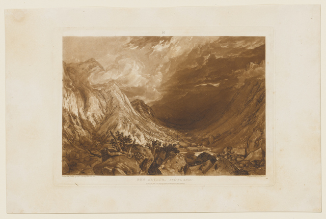 , 'Ben Arthur,' 1819, Clark Art Institute