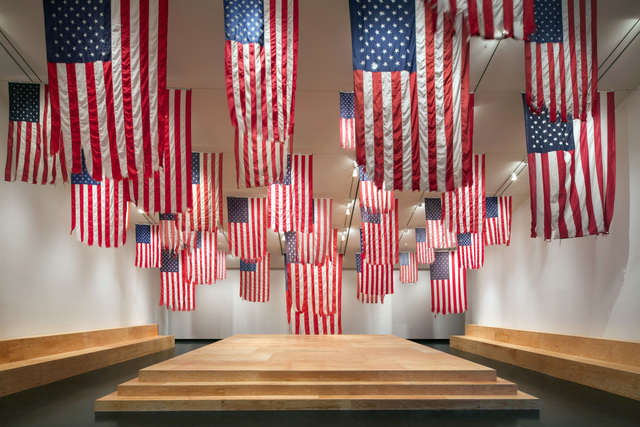 , 'Flag Exchange (A More Perfect Union),' 2011-2016, Tang Teaching Museum and Art Gallery