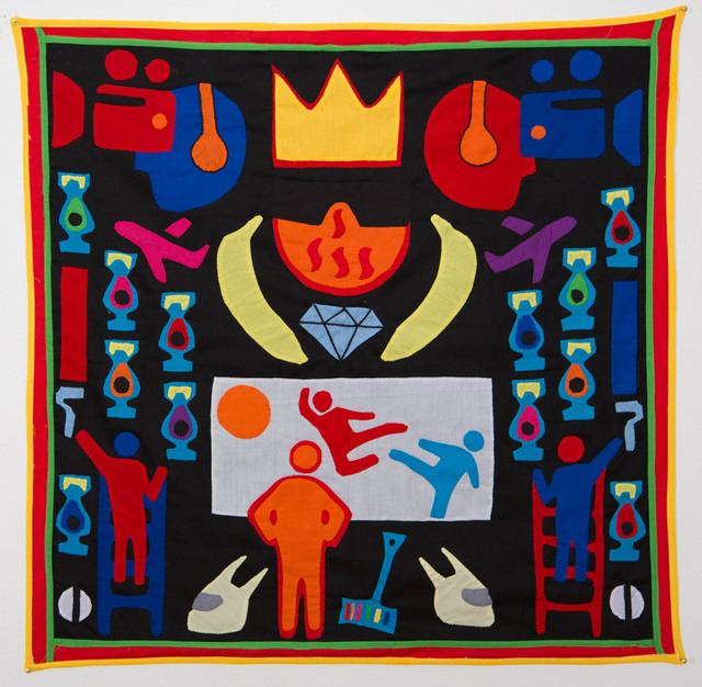 , 'Surtenture #07 (...for the crown shall rest on your head, or your head on the crown),,' 2015, 50 Golborne
