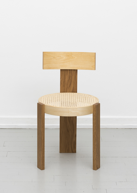 , 'Birch and Rattan Chair,' 2017, Etage Projects