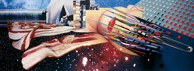 James Rosenquist, 'Star Thief', 1980, Museum Ludwig