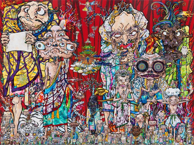 Takashi Murakami, 'Isle of the Dead,' 2014, Gagosian