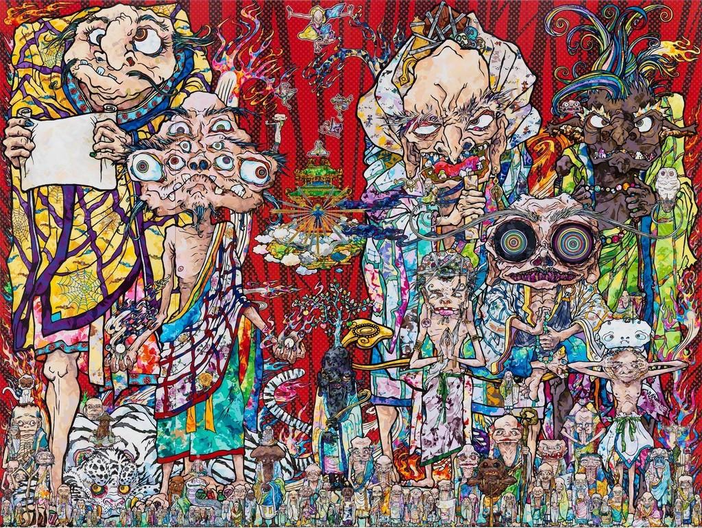 Paintings by Takashi Murakami - Guy Hepner