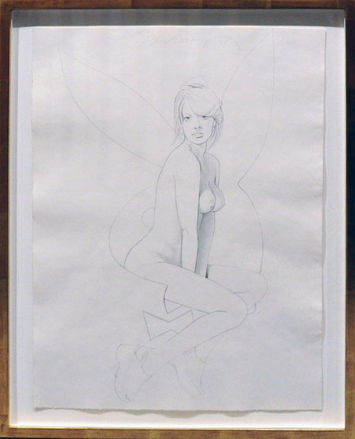 Mel Ramos, 'Playboy Project #4', 1975, Drawing, Collage or other Work on Paper, Pencil on paper, Modernism Inc.