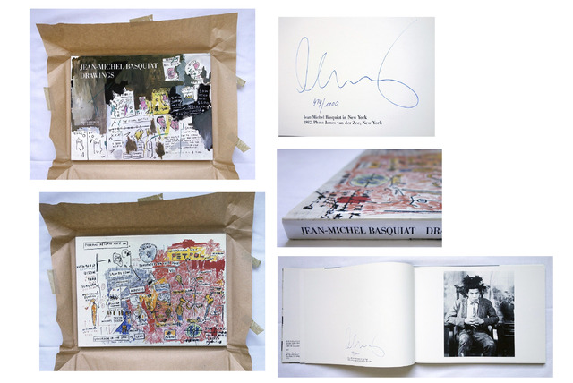 """, '""""Drawings"""", Edition Bischofberger,Signed, MINT with Original Packaging.,' 1985, VINCE fine arts/ephemera"""
