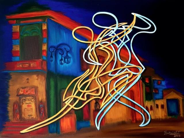 Silvia Ferreira, 'Tango em La Boca', Inn Gallery
