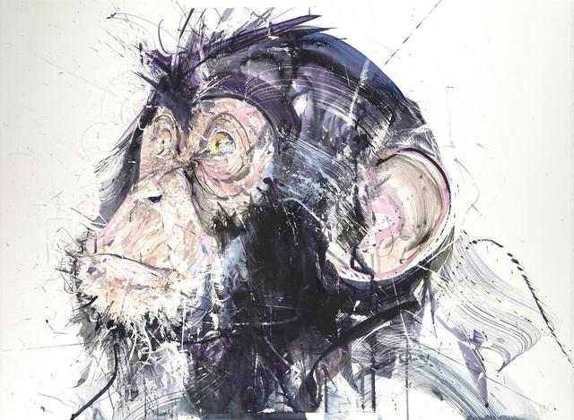 Dave White, 'Chimp III', 2017, Hang-Up Gallery